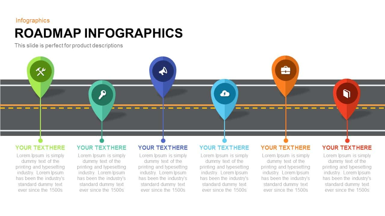 Roadmap Infographics Powerpoint And Keynote Template SlideBazaar - Keynote roadmap template