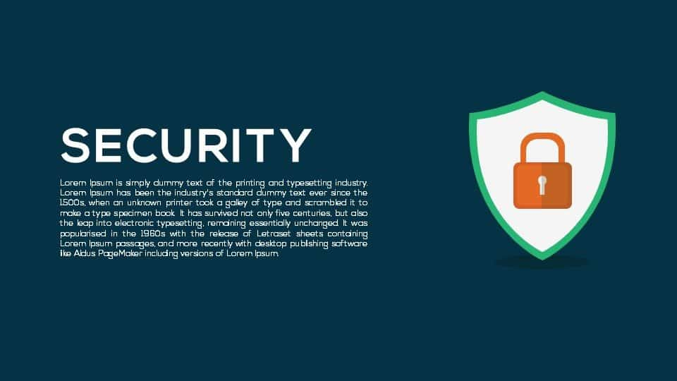 Security PowerPoint Template and Keynote