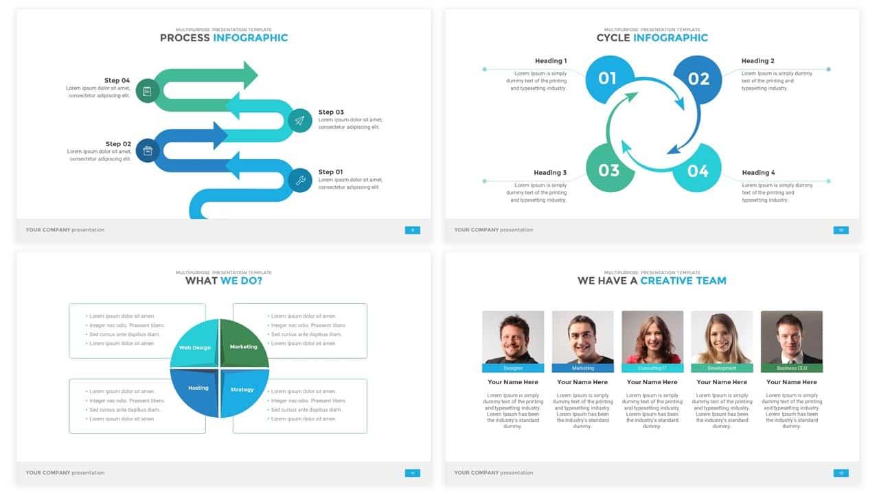 Multipurpose Powerpoint Presentation Template