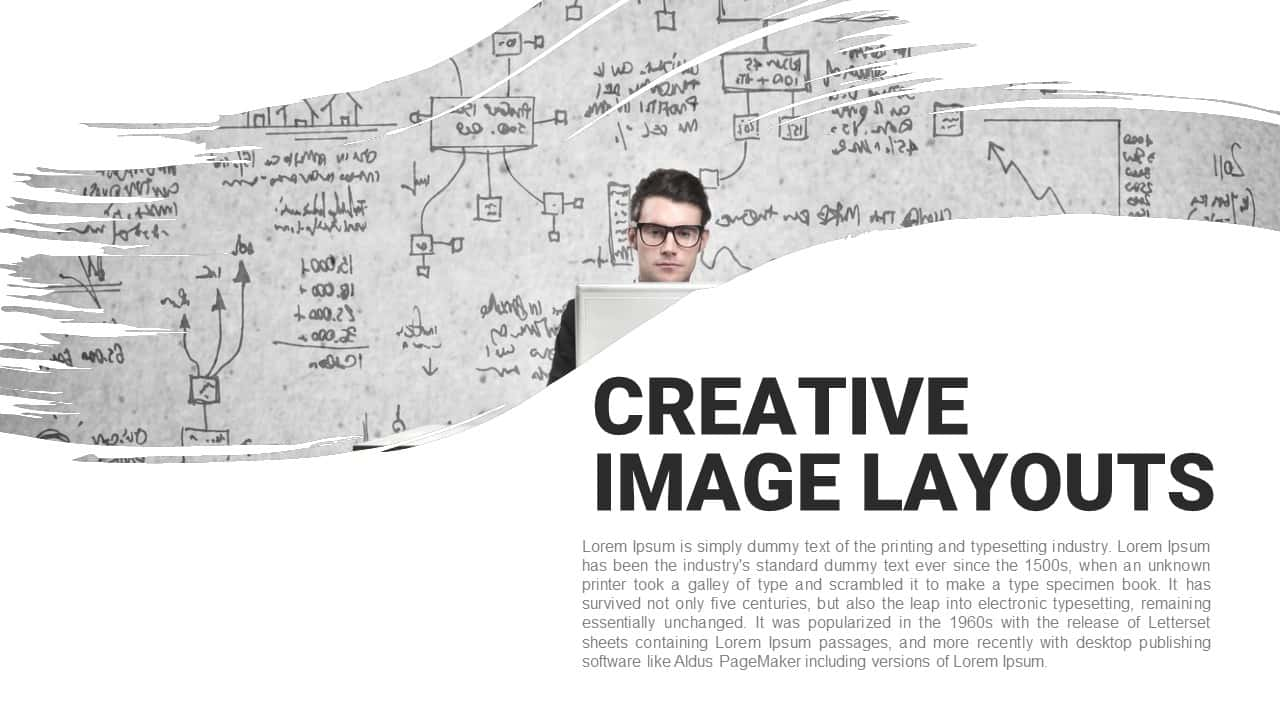 Creative Image Layouts PowerPoint Template