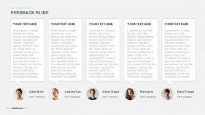 Feedback PowerPoint Template and Keynote Slide