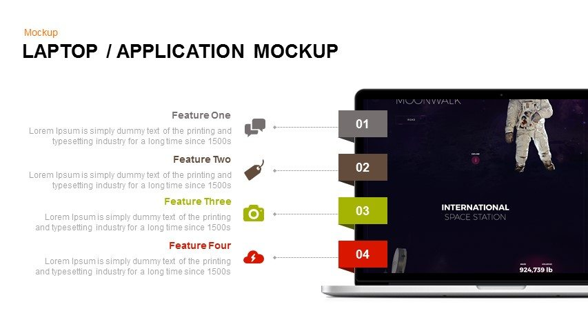Application Mockup Powerpoint Template