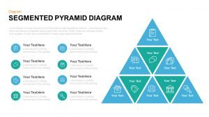 Segmented Pyramid Diagram Template for PowerPoint and Keynote