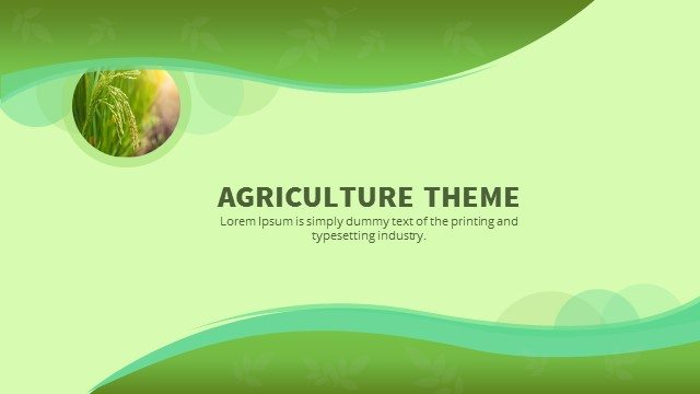 Agriculture powerpoint keynote background and theme slidebazaar agriculture powerpoint keynote background and theme toneelgroepblik Gallery