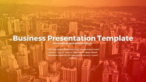 Business Presentation PowerPoint Templates and Keynote Slide