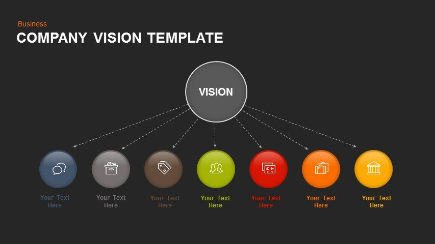 Company Vision Powerpoint and Keynote template