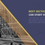 Construction Powerpoint Keynote Background and Theme