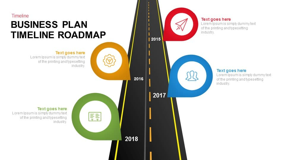 business plan timeline roadmap