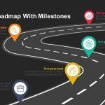 Timeline roadmap milestones