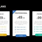 Pricing Plans Powerpoint