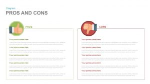 Pros and Cons PowerPoint Template and Keynote Slide
