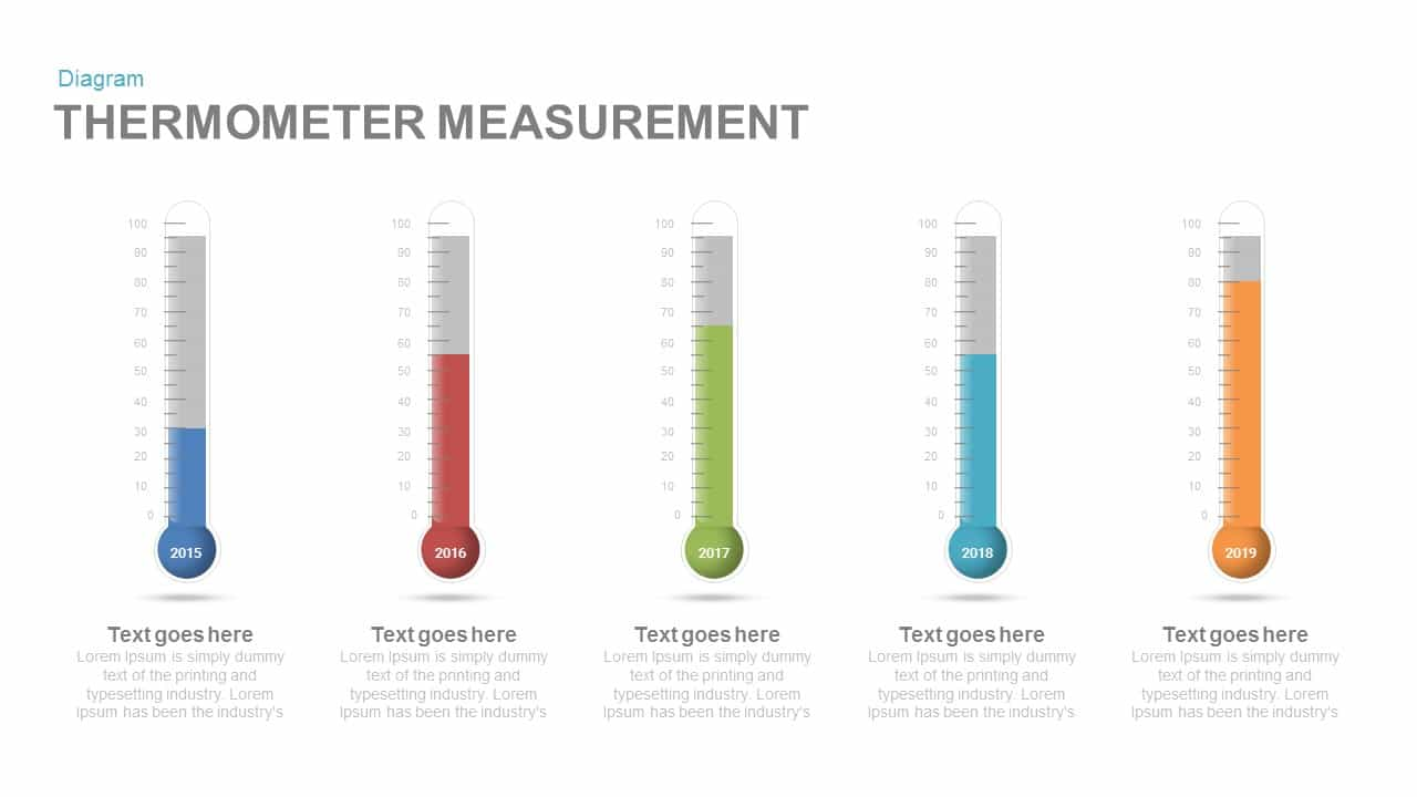 Thermometer measurement powerpoint and keynote template slidebazaar thermometer measurement powerpoint keynote template toneelgroepblik Choice Image