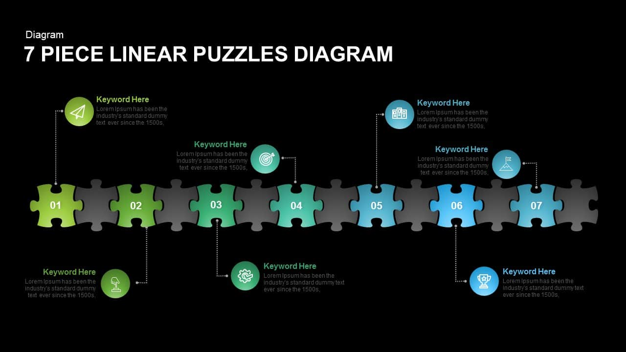 linear puzzles diagram