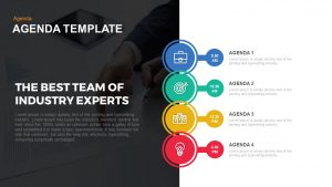 Agenda Powerpoint and Keynote template
