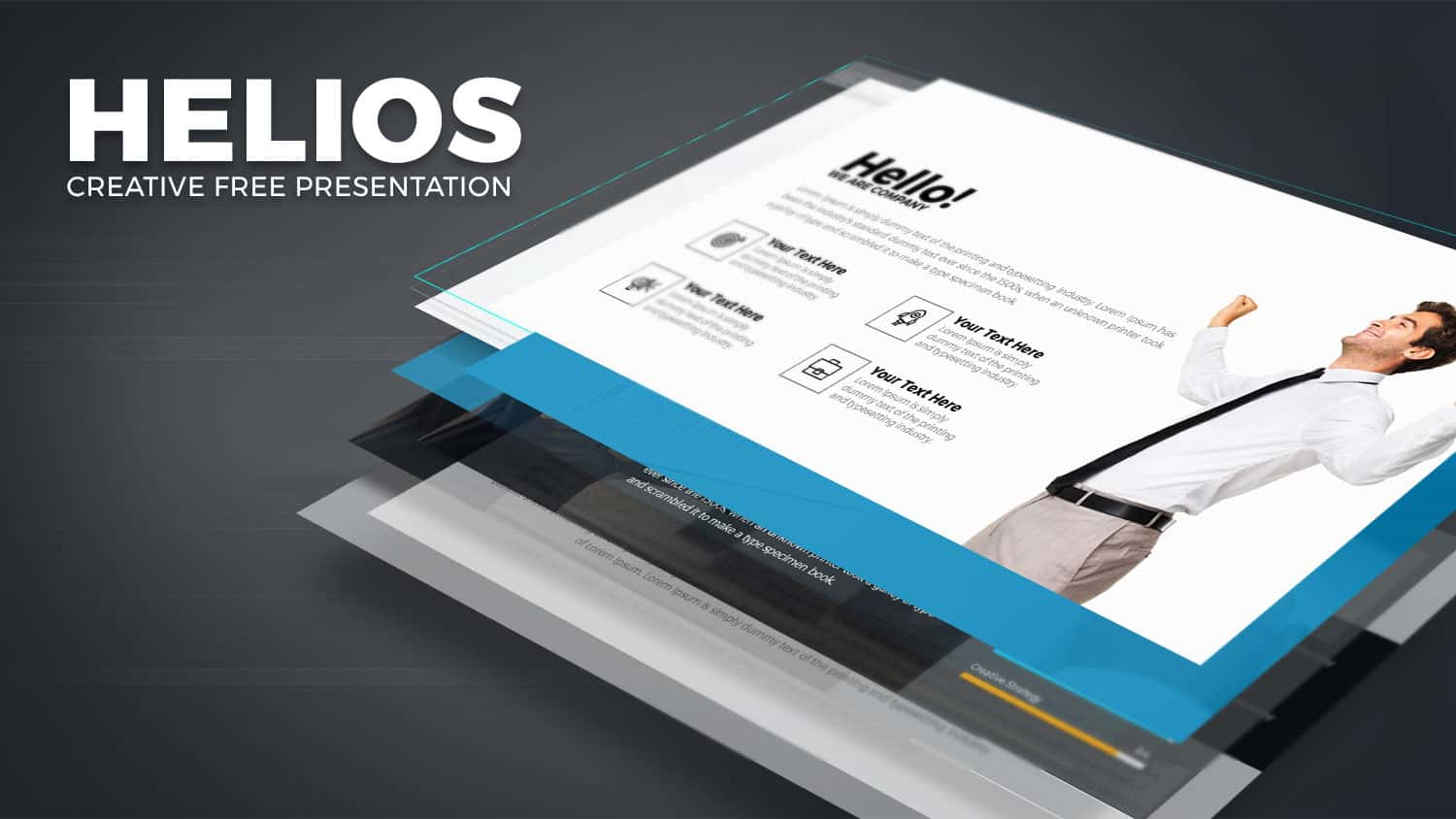 Helios free powerpoint template download slidebazaar helios free powerpoint template toneelgroepblik Images