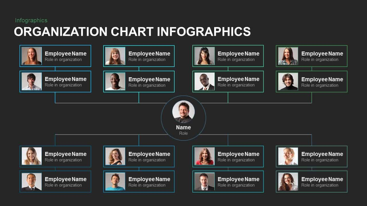 Organization Chart Infographics Powerpoint and Keynote template ...