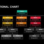 Organizational Chart Hierarchy Keynote and Powerpoint template