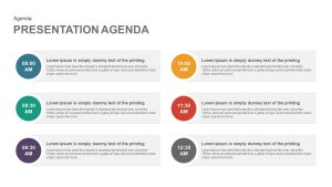 Presentation Agenda Template for PowerPoint and Keynote template