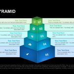 Staged Pyramid Powerpoint and Keynote template