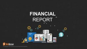 Financial Report PowerPoint and Keynote template