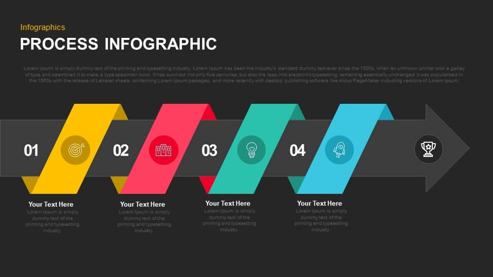 Process Infographic Powerpoint template