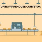 Manufacturing Warehouse Conveyor PowerPoint and Keynote template