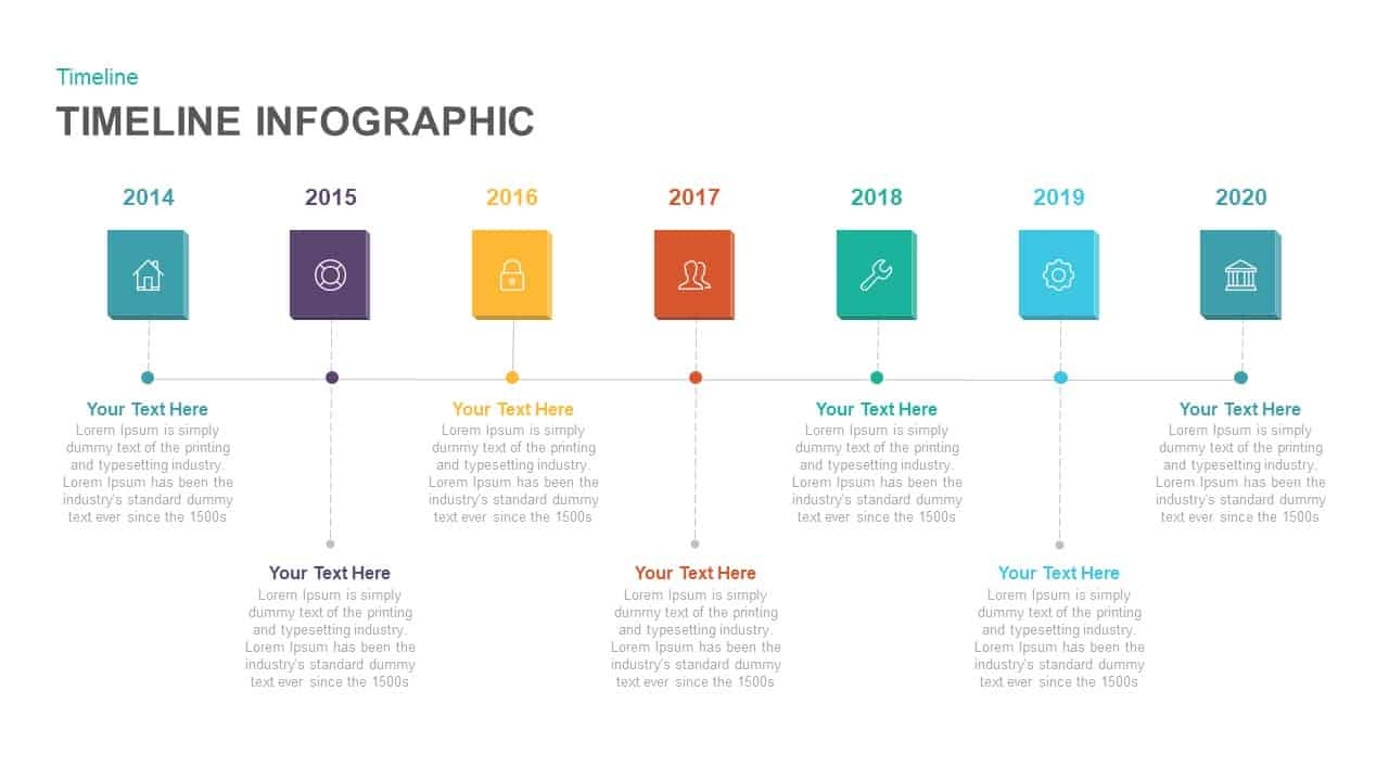 Timeline Infographic PowerPoint and Keynote template