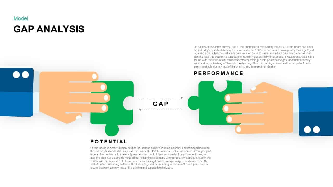 Gap Analysis PowerPoint Template and Keynote Presentation