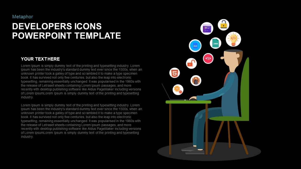 Developers icons powerpoint template and keynote slidebazaar metaphor developers icons powerpoint template and keynote toneelgroepblik Image collections