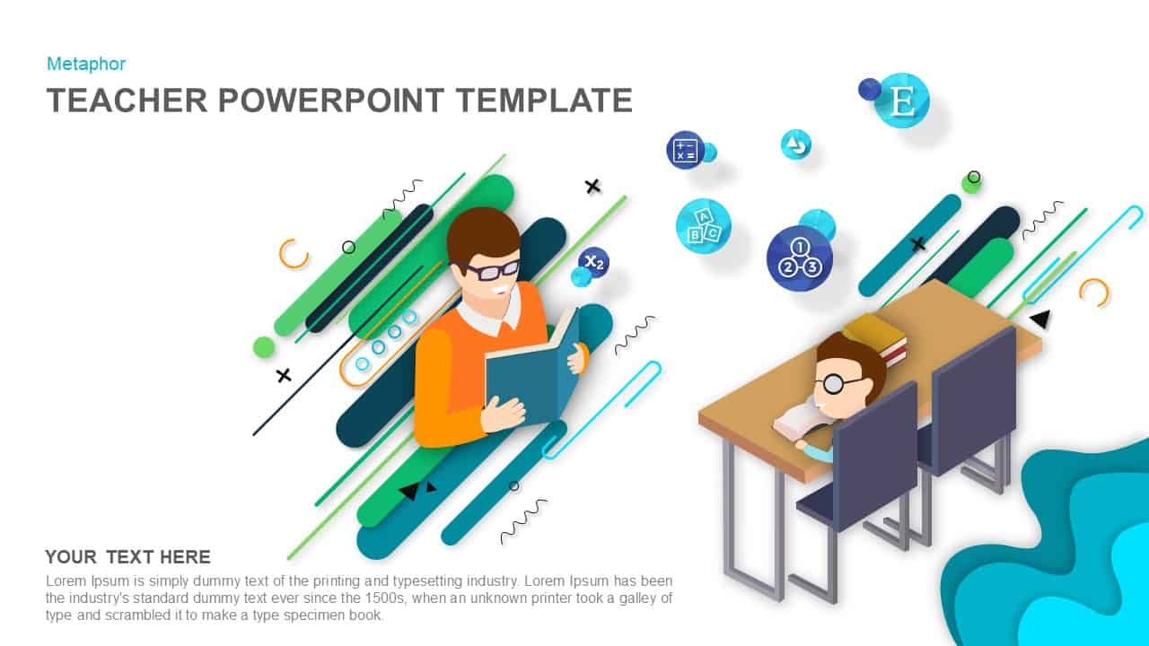 Teacher Powerpoint Templates And Keynote Slide Slidebazaar