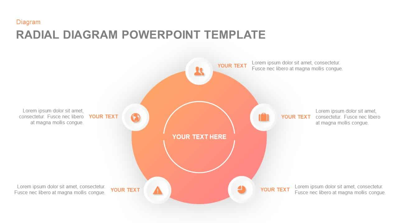 Radial Diagram PowerPoint Template