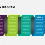 Step Flow Diagram PowerPoint Template and Keynote