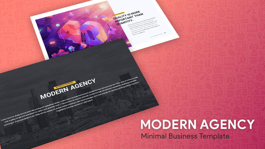 Business Minimal PowerPoint Template