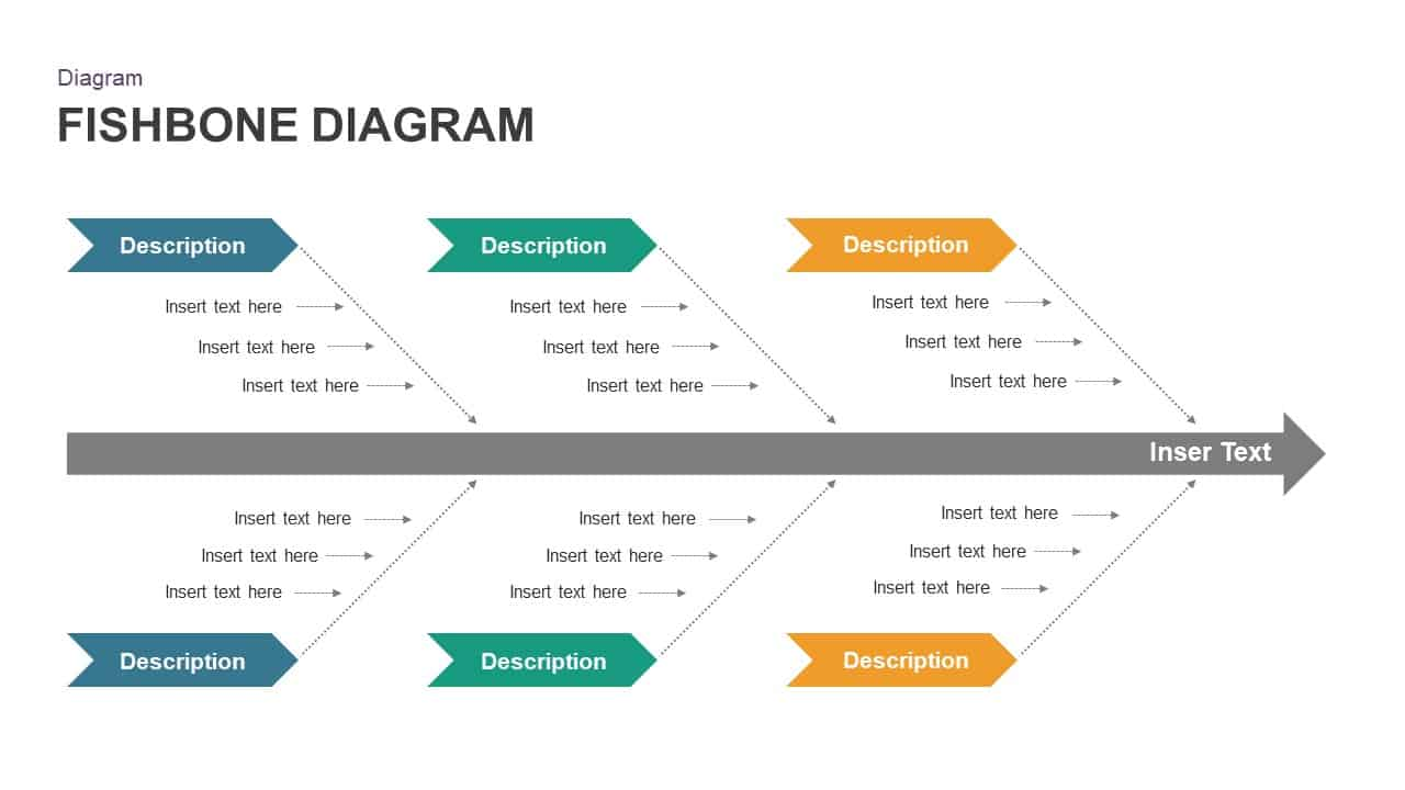 Free Fishbone Diagram Powerpoint Template Slidebazaar