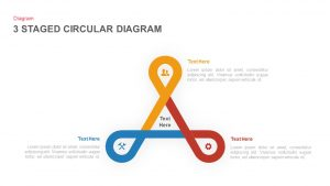 3 to 6 Stage Circular Diagram PowerPoint Template and Keynote Slide