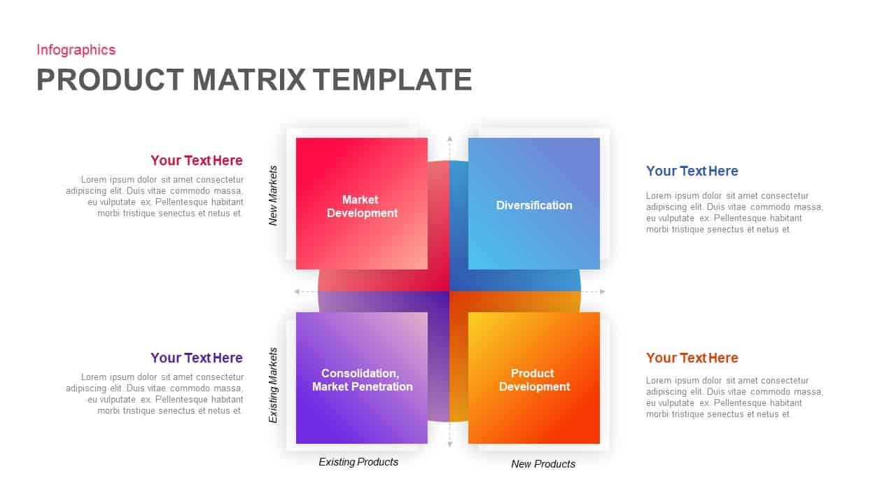 Product Matrix Template For Powerpoint And Keynote Slidebazaar
