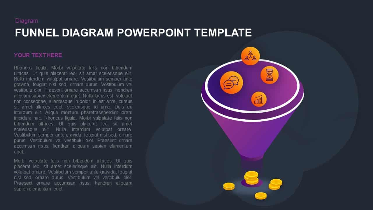 Funnel Diagram PowerPoint Template and Keynote