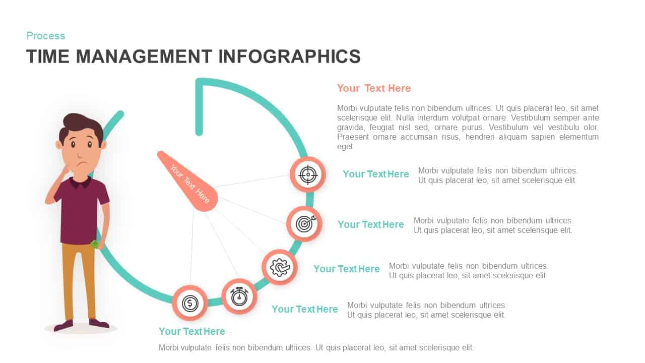 Time Management PowerPoint Template and Infographic Keynote