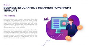 Business Infographics Metaphor PowerPoint Template and Keynote Slide