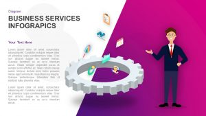 Business Services Infographics Template for PowerPoint and Keynote