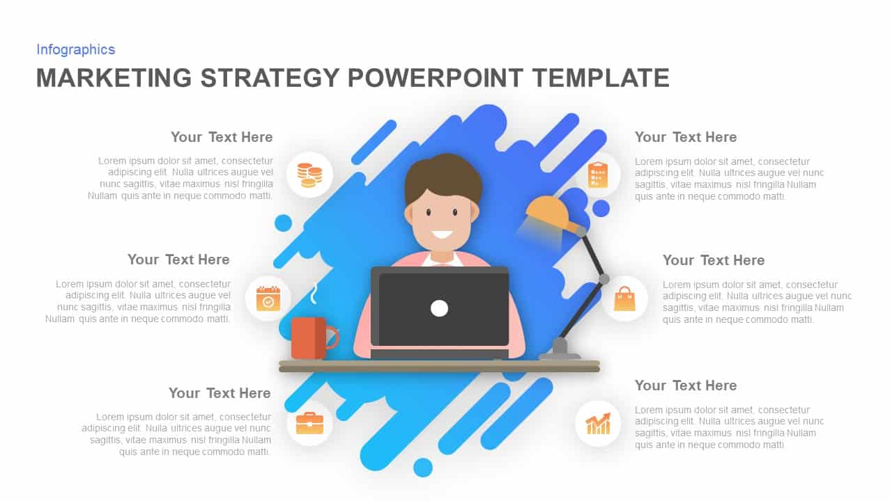 Marketing strategy PowerPoint template and Keynote