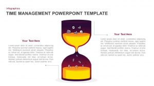 Time Management PowerPoint Template and Keynote Diagram