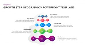 5 Step Growth Concept Infographic PowerPoint Template & Keynote