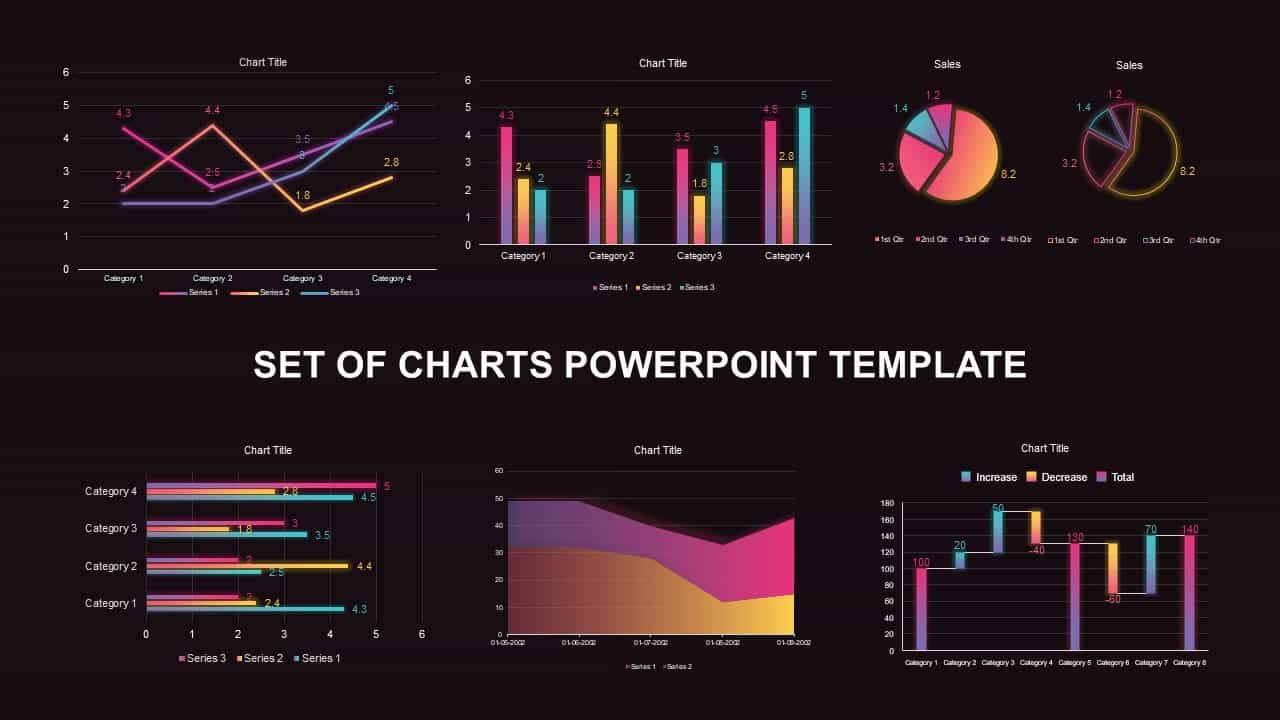 Chart PowerPoint templates and keynotes