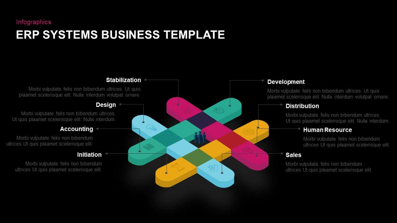 ERP Systems Business PowerPoint Template