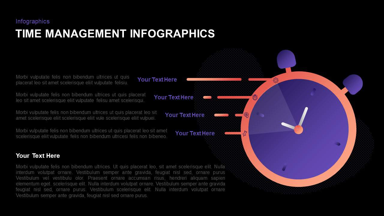 time management PowerPoint template