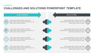 Challenges and Solutions Template for PowerPoint & Keynote