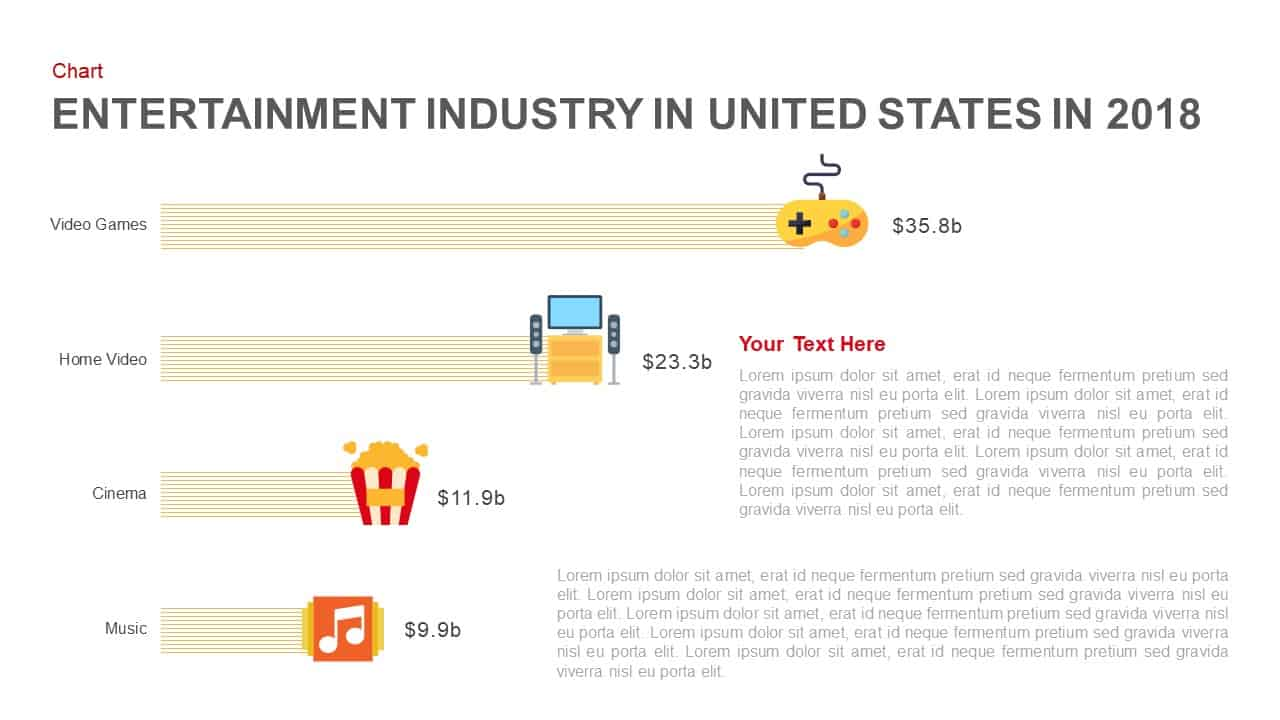 Entertainment Industry Template for PowerPoint