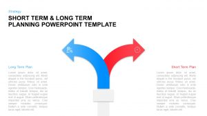 Short Term & Long Term Planning Template for PowerPoint & Keynote