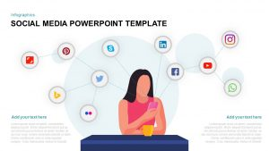 Social Media Template for PowerPoint & Keynote